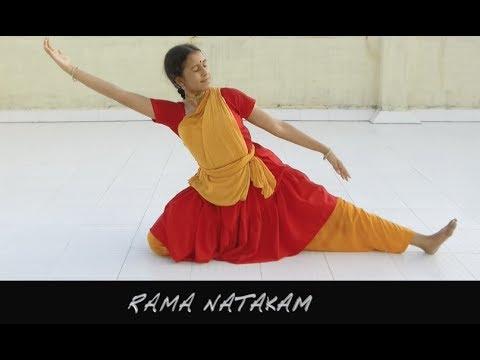 Sridevi Nrithyalaya - Bharatanatyam Dance - RAMA NATAKAM - Thematic Arangetram