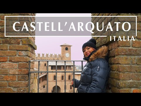 CASTELL'ARQUATO 4K - BORGHI PIU' BELLI D'ITALIA   ENG Subs  