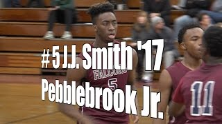 J.J. Smith '17, Pebblebrook Junior at 2015 UA Holiday Classic