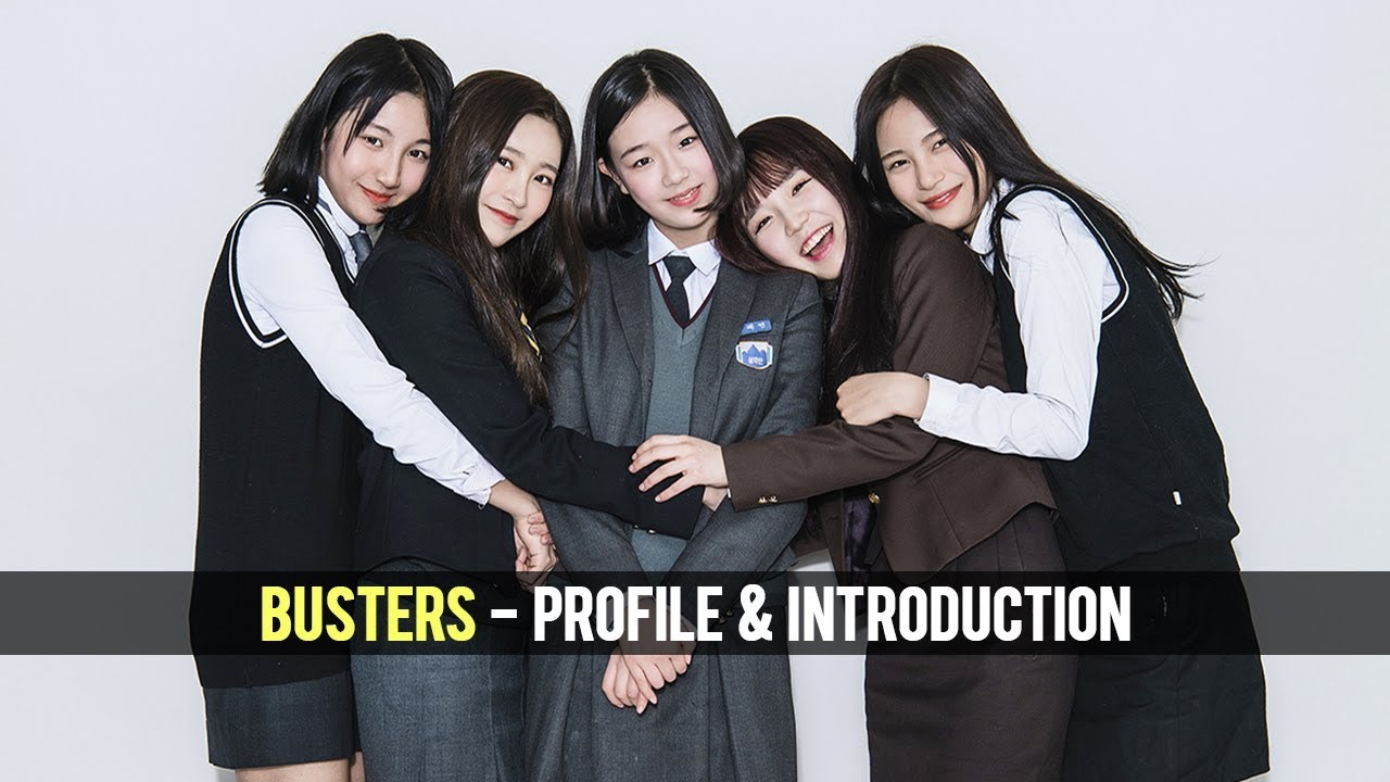 Busters 버스터즈 K Pop Profile And Group Introduction Youtube