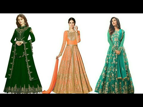 Latest anarkali design 2020 / Anarkali designer suit / Anarkali designer dress -