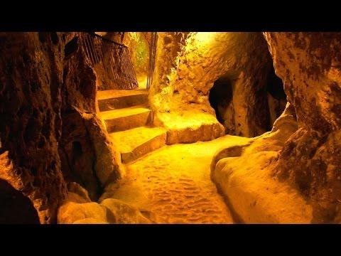 underground cave home. Underground Ancient City Found Below House in Anatolia Turkey  YouTube