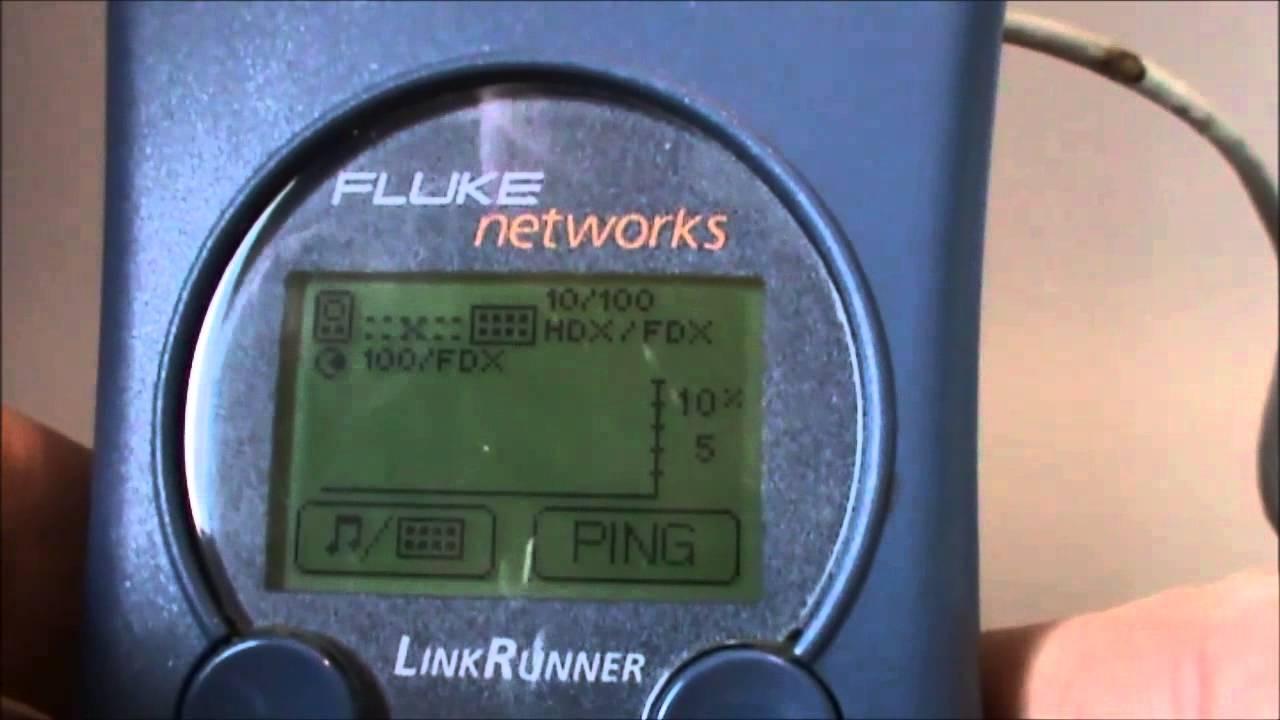 LinkRunner Network Multimeter - CDP EDP