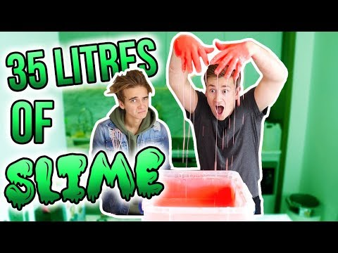 Thumbnail: MAKING 35 LITRES OF SLIME WITH JOE SUGG