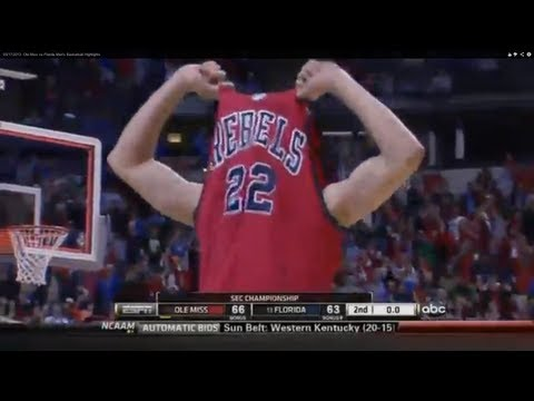 03/17/2013  Ole Miss vs Florida Men