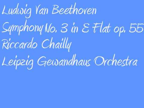 Ludwig Van Beethoven Riccardo Chailly Symphony no  3 in E Flat