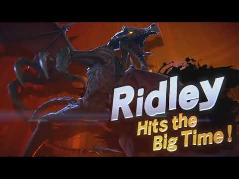 Super Smash Bros Ultimate Ridley Trailer - But Ridley sounds like he does in the GBA games