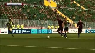 Eskişehir-Fenerbahçe Maçı Golleri (17.11.2012)