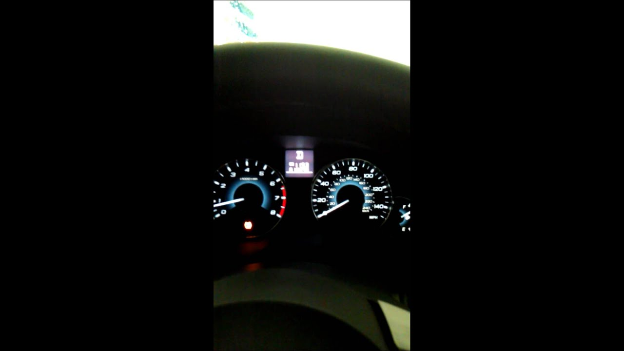 Blinking Tpms Light 2011 Subaru Outback Youtube