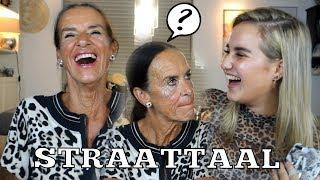 WAT IS EEN KECH?! | STRAATTAAL RADEN MET OMA!
