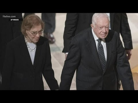 Jimmy and Rosalynn Carter are the longest-married presidential couple in history