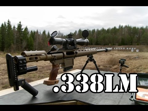 Small review of my suppressed .338 lapua magnum sniper ...