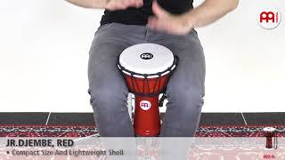 MEINL Percussion - MEINL Percussion - JR. DJEMBE, RED - JRD-R