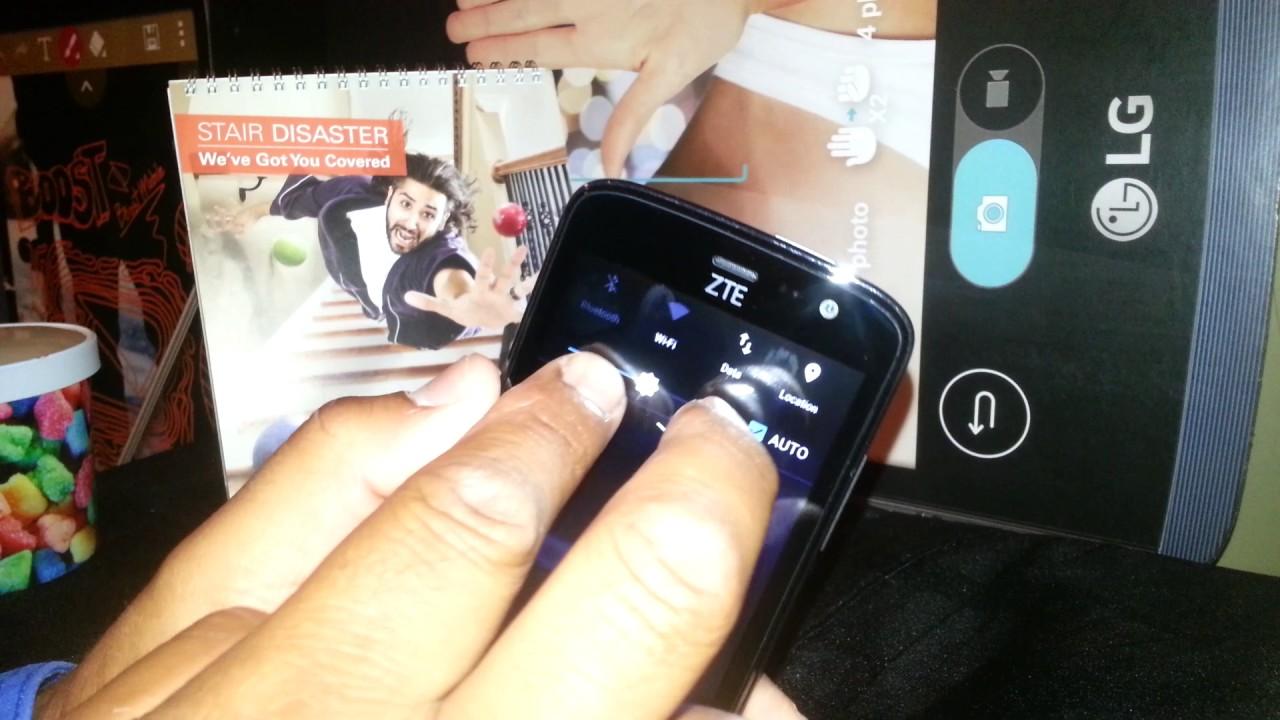Turn off talkback on ZTE Majesty Pro Model Z798BL phone talks when I touch  the screen
