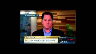 Bill Discussion with Michael Dell