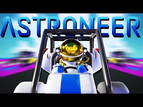 New and Improved Rover! - Astroneer Gameplay - Astroneer Multiplayer with Baron