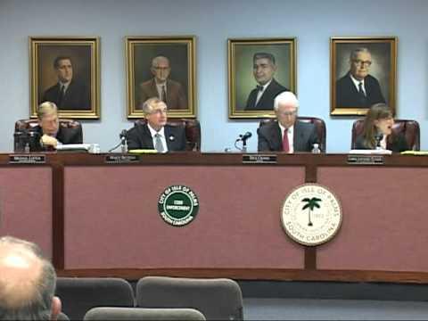 1/24/12, City Council, Isle of Palms, South Carolina