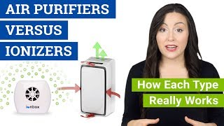 Air Purifier VS Ionizer (How Ionizers Work, Are Air Purifiers Safe and Benefits of Each Type)