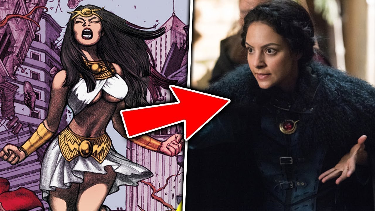 Top 10 Characters who were NERFED for the Arrowverse #1