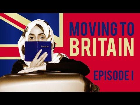 Moving To Britain - Episode 1 | Asma Makes Yemeni Zurbian