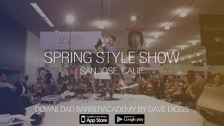Andis Educator Dave Diggs at the 2016 CosmoProf Spring Style Show in San Jose, CA