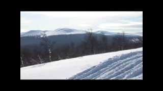 """Снегоходная трасса """"Север"""". Перевал Дятлова."""