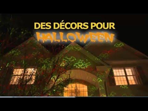 Projecteur laser star shower laser magic d coration halloween youtube for M6 boutique projecteur laser