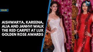 Aishwarya, Kareena, Alia and Janhvi walk the red carpet at Lux Golden Rose Awards thumbnail