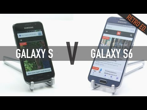 Samsung Galaxy S6 Vs Galaxy S: It's hard to believe how far phones have come
