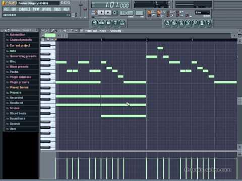 Учимся сочинять музыку в FL Studio. Урок 3.  Гармония.