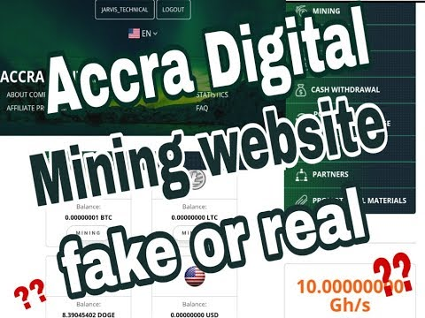 Accra Digital mining website review(real or fake)