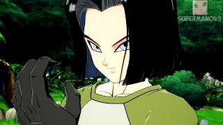 "Dragon Ball FighterZ: Android 17 Gameplay Breakdown! Dragon Ball FighterZ ""Android 17"" Gameplay"