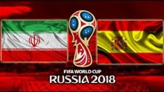 Irã vs Espanha - 2018 FIFA World Cup Russia