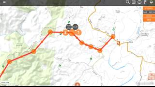 Hema Explorer (Android) App - How to manually create a route