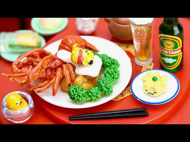 Gudetama Chinese Restaurant Rement Miniature Doll Furniture #7