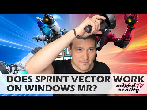 Can You Play Sprint Vector On Windows Mixed Reality VR Headsets? Sprint Vector Review / Gameplay