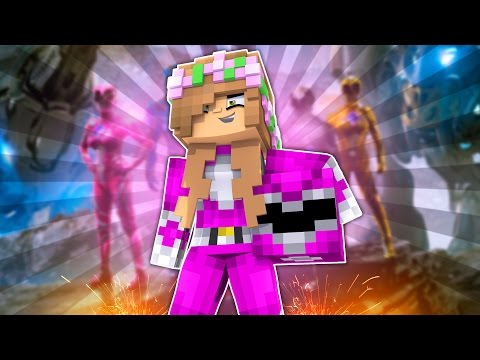 LITTLE KELLY BECOMES THE PINK POWER RANGER! Minecraft School w/TinyTurtle & DonutTheDog