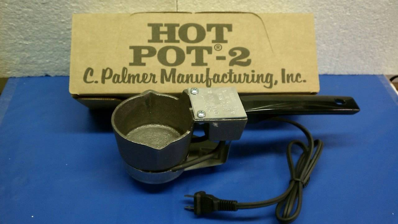 PALMER HOT POT 2 LEAD MELTING POT C