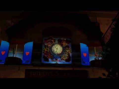 Stuttgart S-Cafe Beer Fest Projection mapping - Checkers