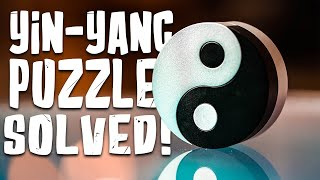 Solving The YIN-YANG Puzzle!!