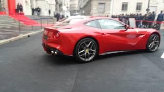 Ferrari cerimonia di quotazione borsa milano
