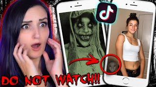 DO NOT WATCH These TikTok Videos ...They're Actually HAUNTED