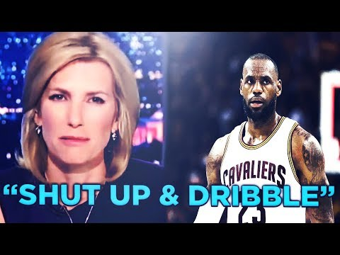 RACIST FOX NEWS REPORTER Laura Ingraham Tells NBA ALL STAR LEBRON JAMES TO STOP DONALD TRUMP TWEETS