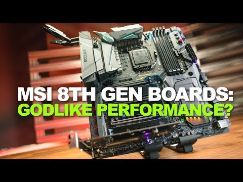 Newegg Insider: MSI's 8th Gen Motherboards are packing power and ALL the features