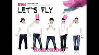 [MP3 DOWNLOAD] B1A4- Remember w/ Romanized & English Lyrics