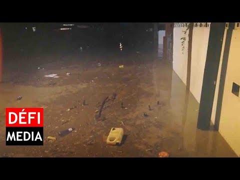 Berguitta - l'eau monte à Canal-Dayot, l'évacuation des habitants a débuté