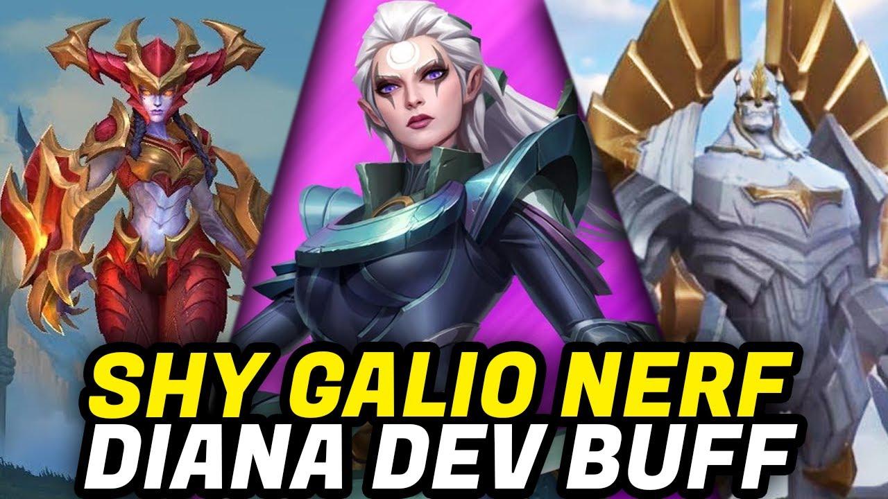 Wild Rift: DIANA DEVASA BUFF | SHYVANA GALIO NERF!! 2.2A Yama Notları Türkçe — Togzilla