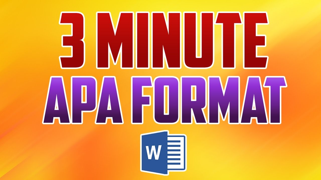 word 2016 how to format paper in apa style youtube