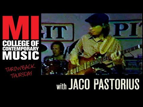 Jaco Pastorius full length Throwback Thursday From the MI Vault