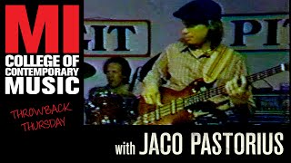 Jaco Pastorius (full length) Throwback Thursday From the MI Vault